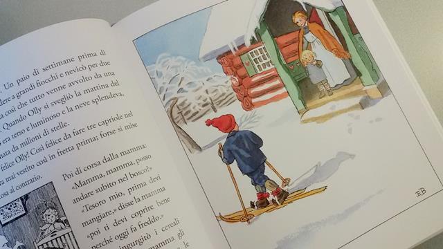 olly va a sciare libro elsa beskow in italiano