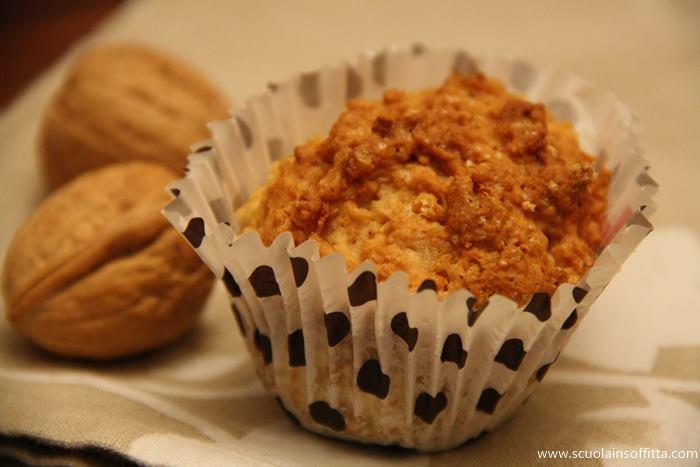 muffin alle mele senza burro