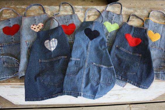 idee per riciclare vecchi jeans