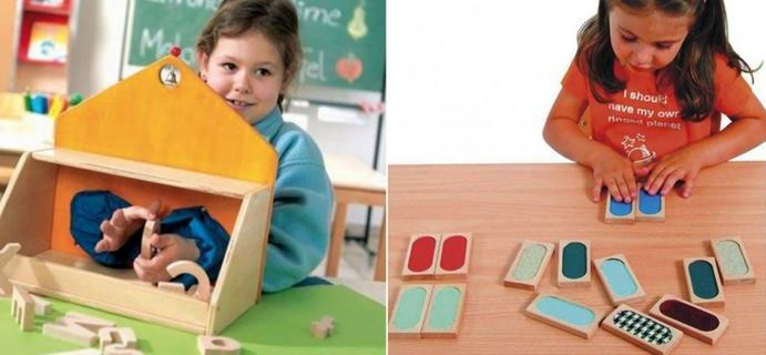 Come creare a casa un laboratorio sensoriale Montessori