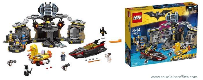 Lego Batman Movie batcaverna