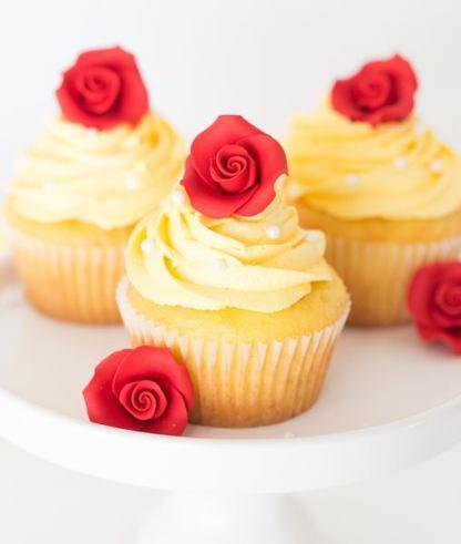 cupcakes la bella e la bestia
