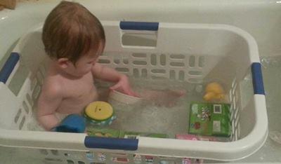 vaschetta per bambini fai da te