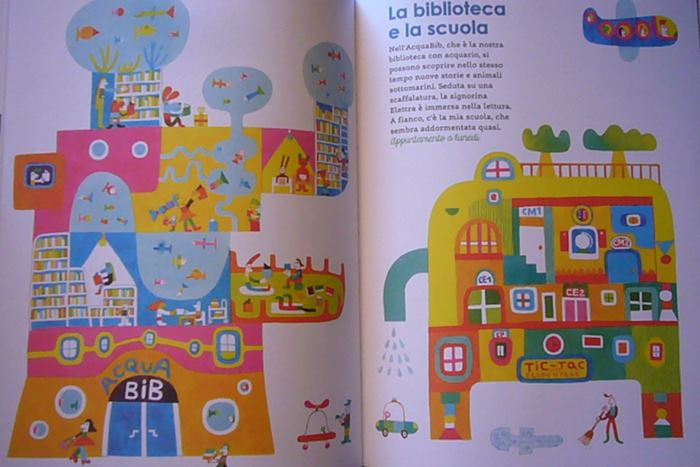 libro per bambini benvenuti a toc toc