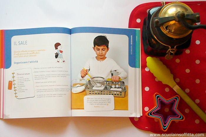 metodo montessori attività creative libro demetra