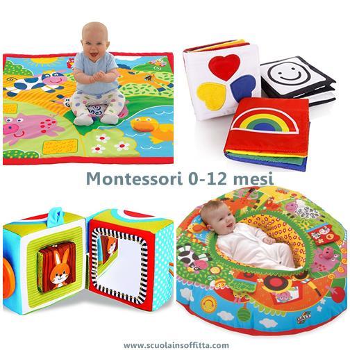 giochi montessori per 0-12 mesi