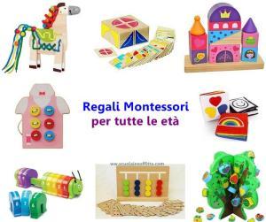 Regali Montessori per età