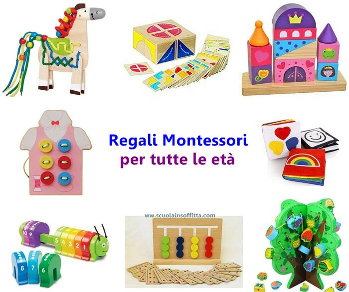 Regali Montessori Per Tutte Le Età