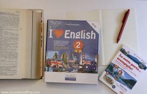 quaderno grammatica inglese i love english 2