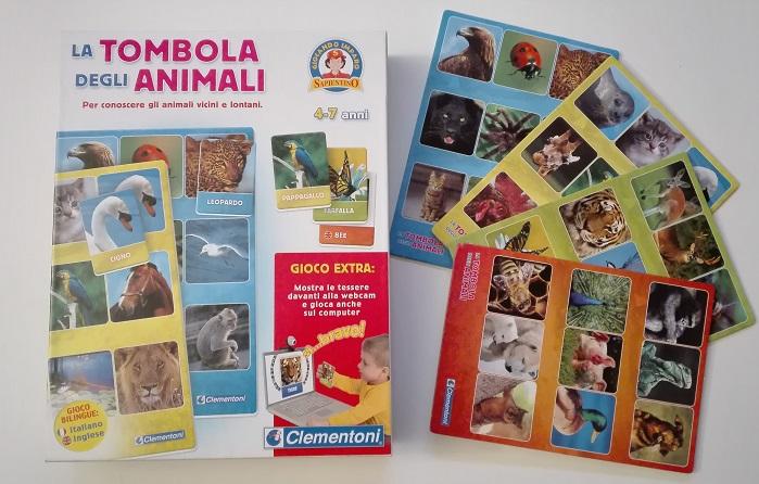 tombola degli animali in inglese