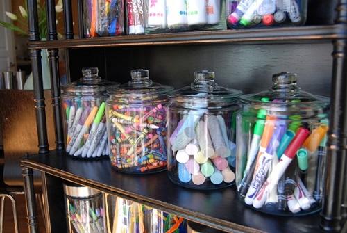 Come archiviare materiale scolastico e creativo