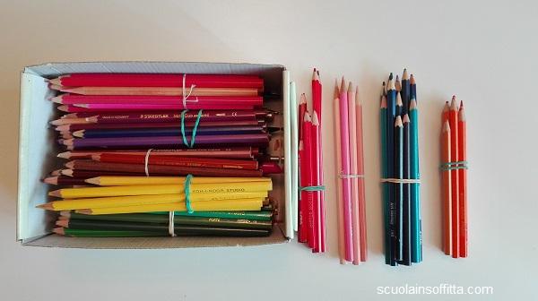Organizzare il materiale scolastico