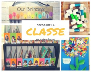 Idee per decorare la classe