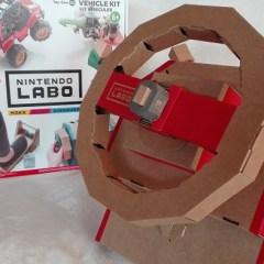 Nintendo Labo kit Veicoli: il bello di costruire
