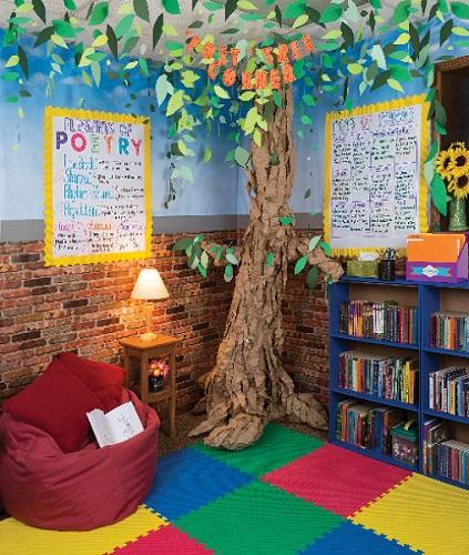 biblioteca scolastica idee