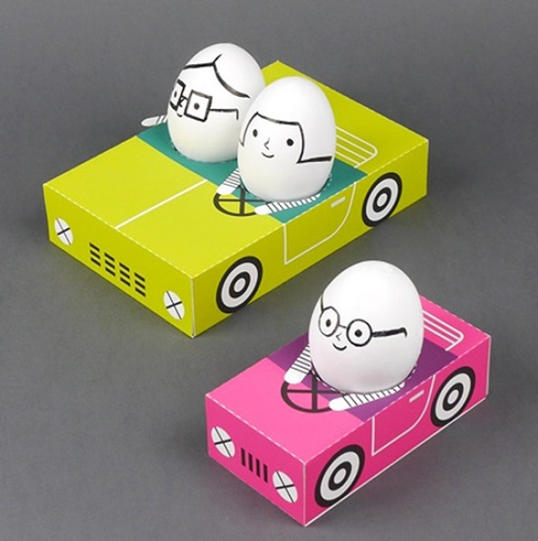 Decorazioni per uova sode
