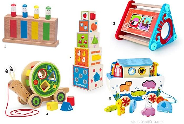Giochi per bambini di 1 anno