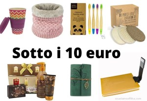 Idee regalo sotto i 10 euro