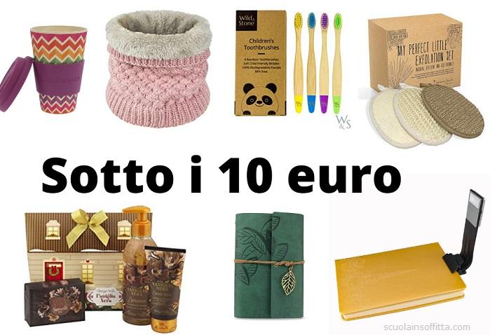Idee Regali Di Natale A Basso Costo.30 Idee Regalo Sotto I 10 Euro Scuolainsoffitta