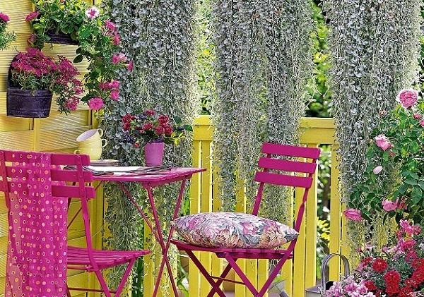 giardino sul balcone