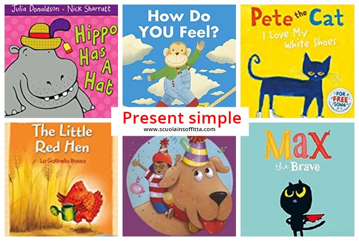 libri in inglese al present simple