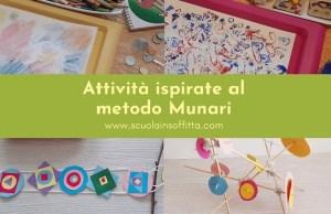 Attività ispirate al metodo Munari