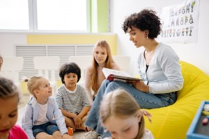 Libri per bambini sulla scuola dell'infanzia