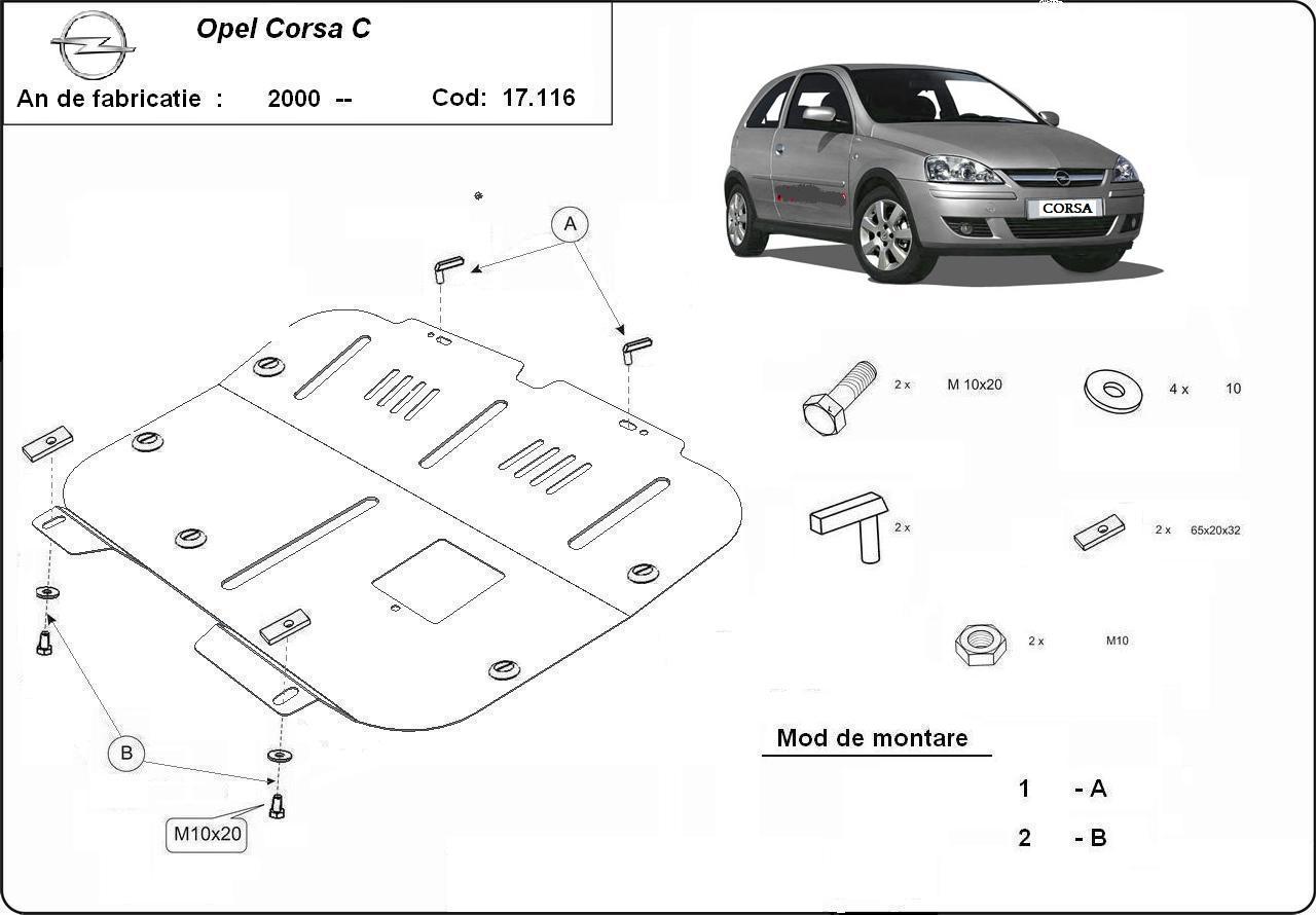 Scut motor Opel