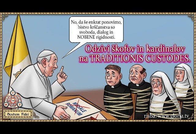 Odzivi škofov in kardinalov na Traditionis Custodes