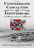 Confederate Casualties at Gettysburg: A Comprehensive Record ( A Four Volume Set)