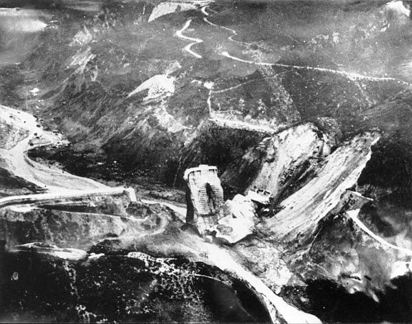 St. Francis Dam Failure  San Francisquito Canyon