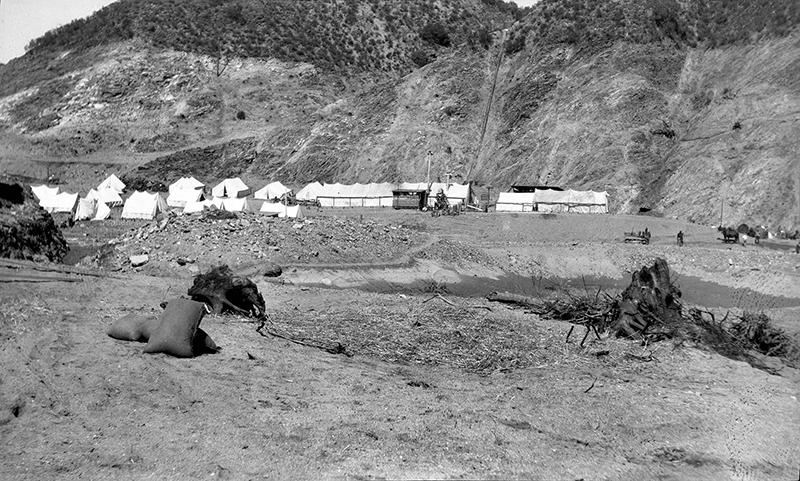 PH-2 Reconstruction: Construction Camp SAN FRANCISQUITO CANYON