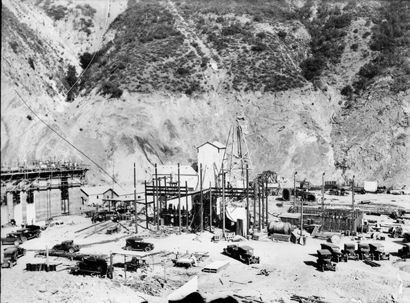 Rebuilding Powerhouse No. 2 SAN FRANCISQUITO CANYON