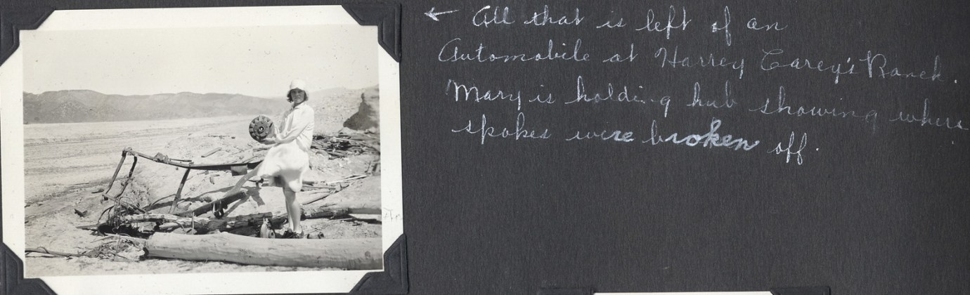 Eleanore Smith of Valencia, California found these photos of the aftermath of the St. Francis Dam disaster in a photo album passed down to her by her aunt Genevieve Smith.