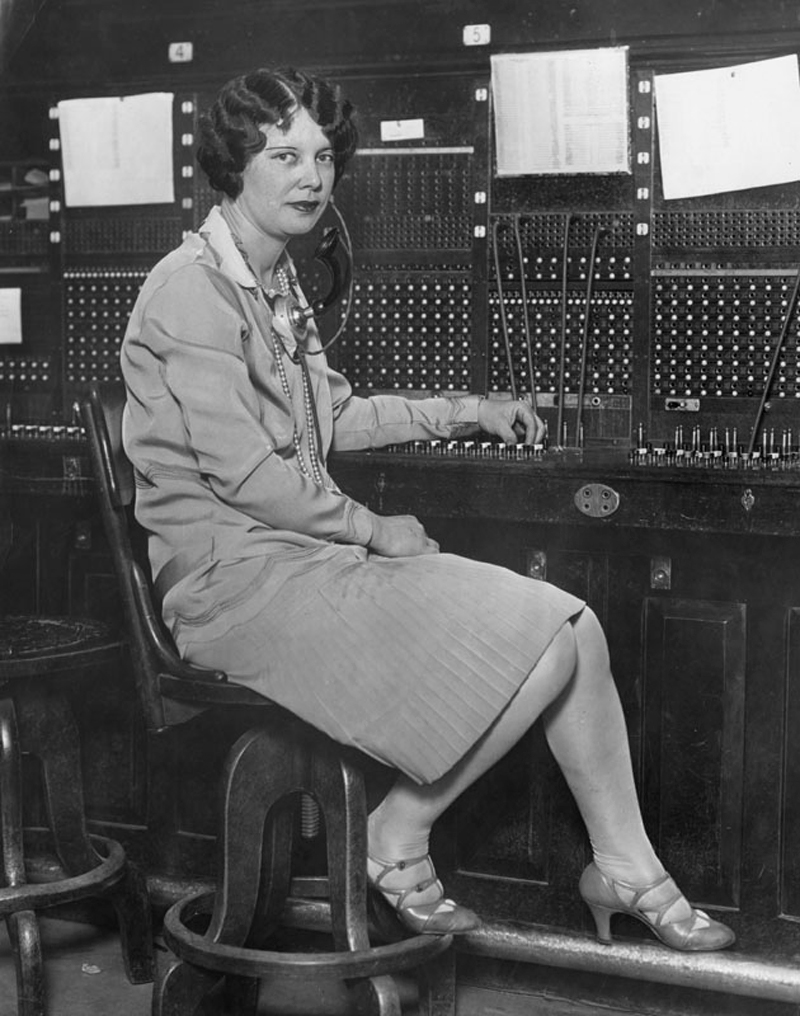Louise Gipe, Switchboard Operator. HEROINE OF THE ST. FRANCIS DAM DISASTER. Photos of the St. Francis Dam disaster.