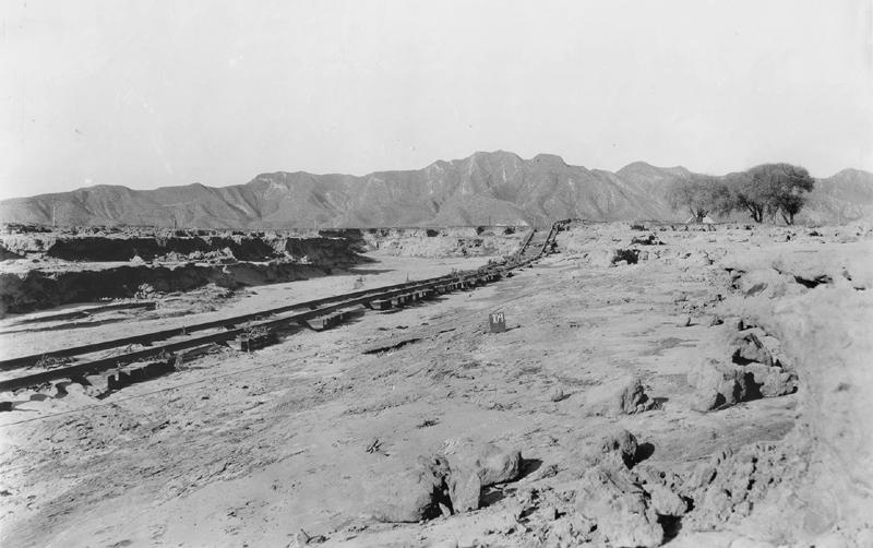SPRR Track Erosion CASTAIC JUNCTION | ST. FRANCIS DAM DISASTER