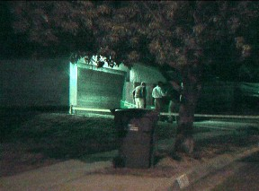 Home of Lennie Paul Tracey where neighbor Anthony Jay Davis' body was found Sept. 24, 2011. Photo: SCVTV