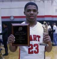 Lewis Stallworth, tournament MVP