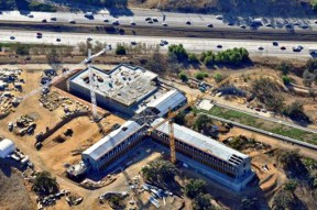 The UCLA Film Archive and Preservation Center is located on McBean Parkway between CalArts and COC.