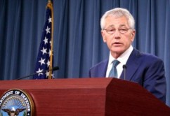 SECDEF Chuck Hagel announces the appointees to the new panel Tuesday.