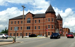 The new Trigg County Courthouse.
