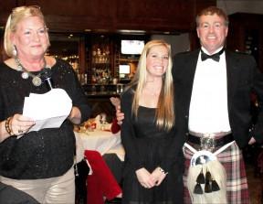 From left: Barbara Sanguinetti, Megan McDonald and John McDonald