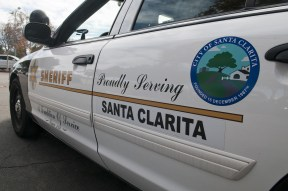 Santa Clarita Valley Sheriff's Station cruiser