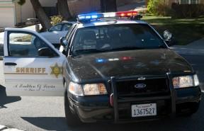 Santa Clarita Valley Sheriff's Station cruiser