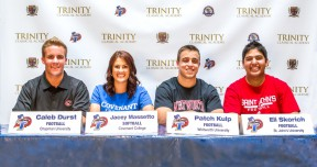 20140502 - Trinity Senior Sports Signings