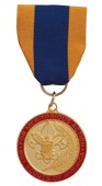 The Medal of Merit may be awarded to a youth member or adult leader who has performed some outstanding act of service of a rare or exceptional character that reflects an uncommon degree of concern for the well-being of others.