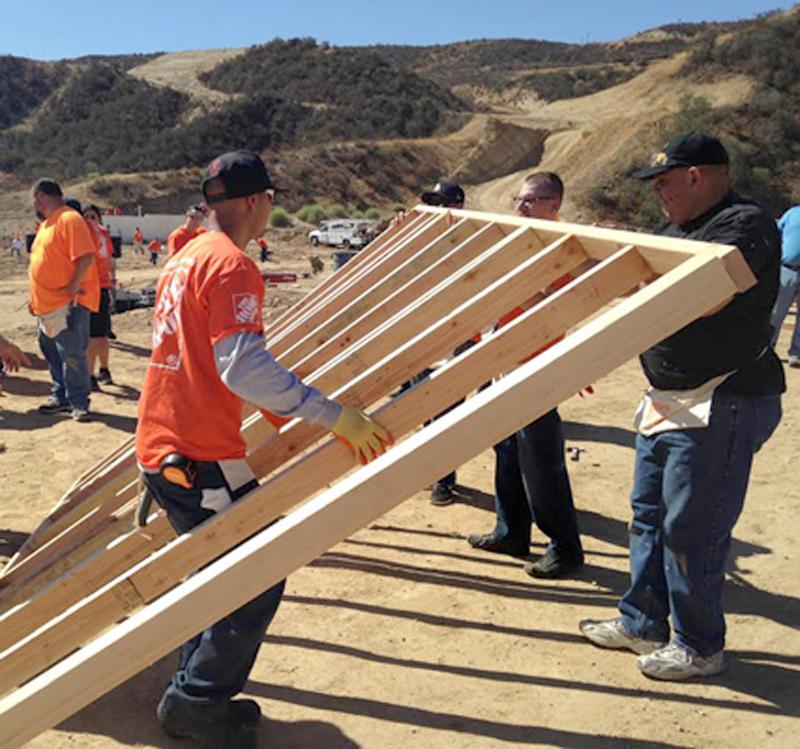 Apartments In Santa Clarita: The Home Depot Helps Build Veteran Housing