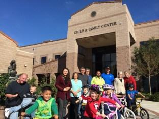 Chiquita Canyon Donates Dozens Of Bicycles To Child & Family Cen