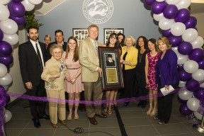 College Of The Canyons Hosts Ribbon Cutting For Canyons Hall-1