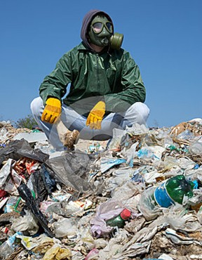 landfillgasmask